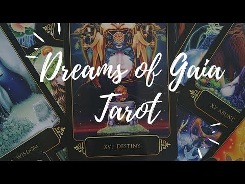Обзор колоды Dreams Of Gaia Tarot ч. 1