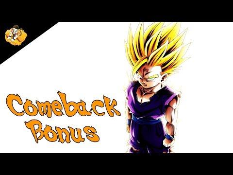 Comeback Login Bonus Dragon Ball Legends Db Dbl