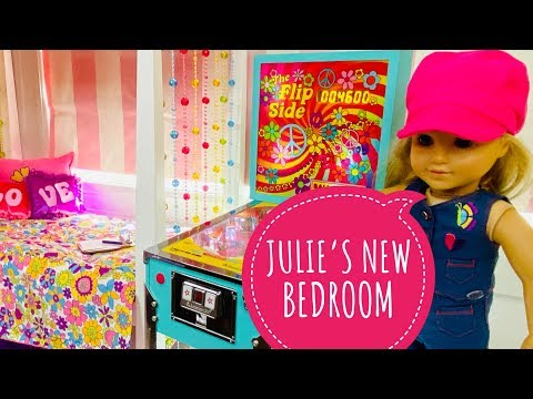 American Girl Doll Julie's New Bedroom