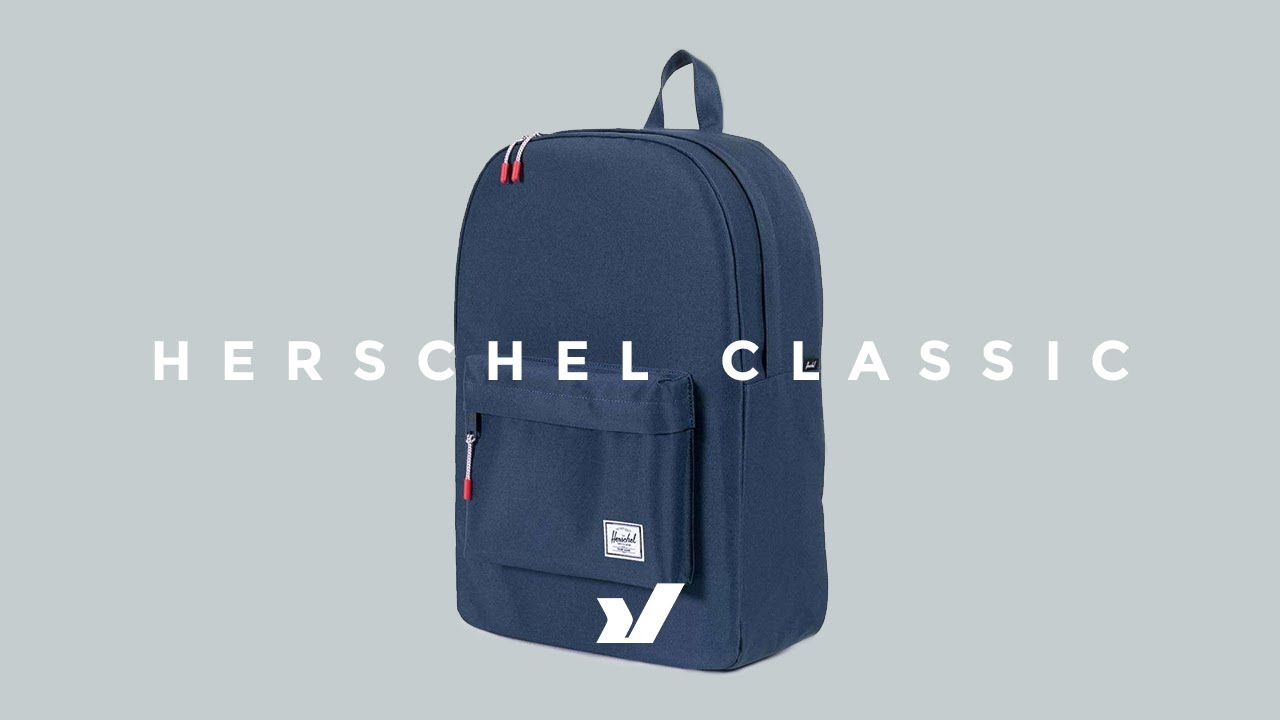 The Herschel Classic Backpack - YouTube 8dbb946f54ddf