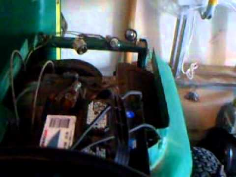 1978 John Deere 210 Lost Spark Ignition Switch, Coil, Bad