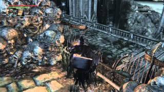 """Bloodborne - """"Make Contact"""" gesture secret (+Choir Bell, Blood Rock, and hidden Moon Rune)"""