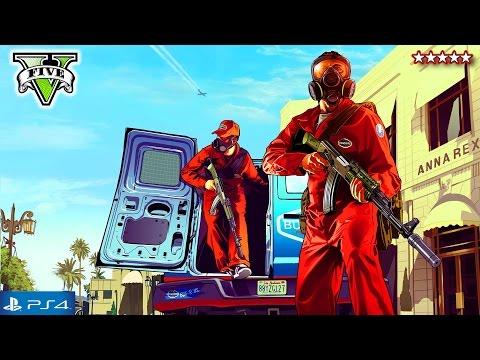 GTA 5 Next Gen First BIG HEIST! - Grand Theft Auto 5 Campaign Walkthrough Ep3 - GTA Jewelry Robbery