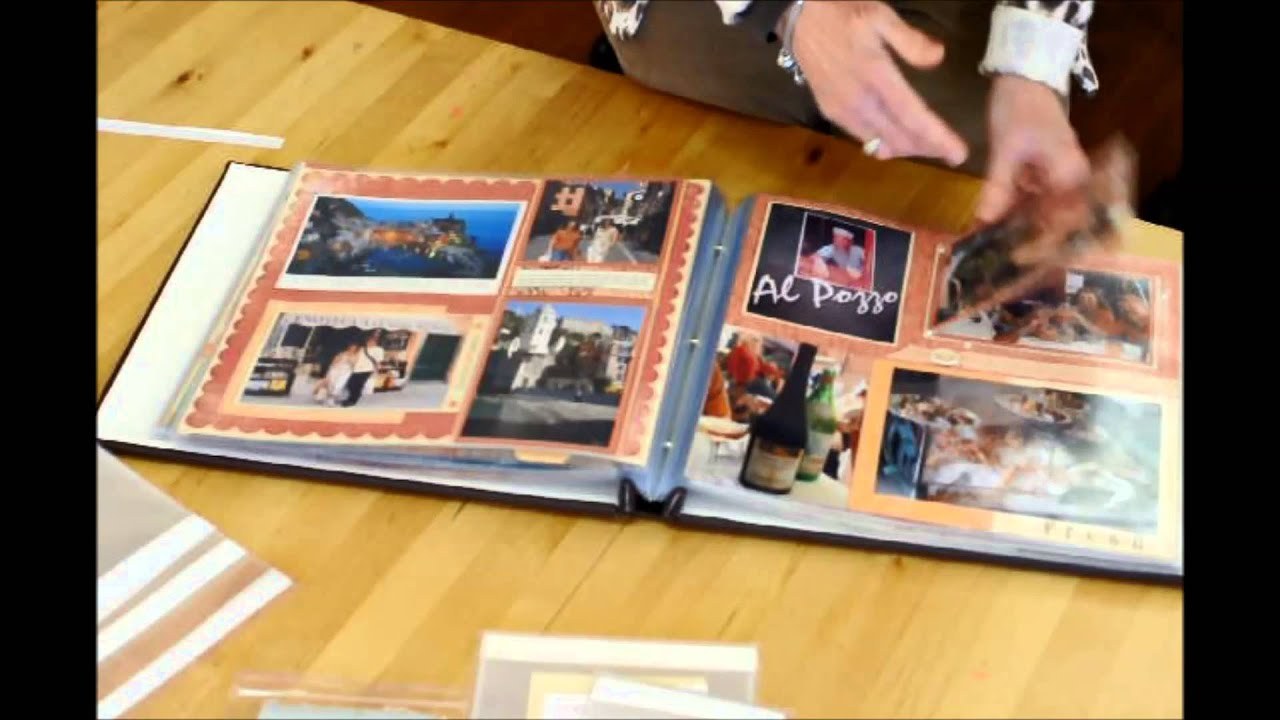 2dbb174ddba0 How to Use Flip Flaps in Scrapbooking - YouTube
