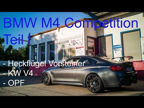 M4 Competition Heckflügel Vorsteiner KW V4 OPF