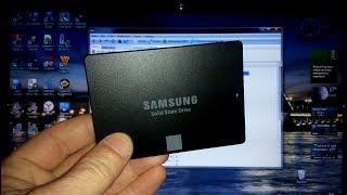#SSD Samsung _ клонирование системы и установка в ноутбук