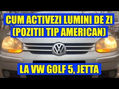TUTORIAL: Cum Activezi Lumini De Zi (pozitii Tip American) Cu VCDS (VAG COM) VW Golf 5, Jetta
