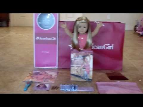 What I Got at The American Girl Store In Miami !!!!