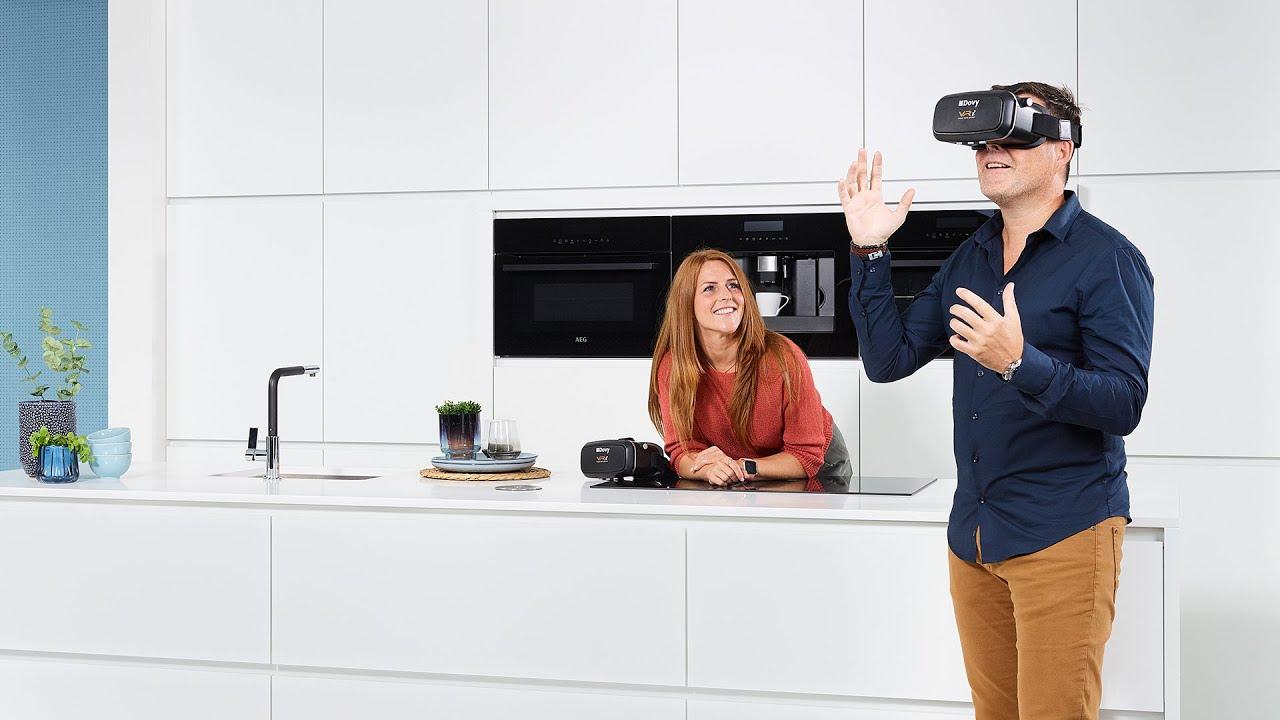 Bewonder Je Nieuwe Keuken In Virtual Reality Dovy Keukens Youtube