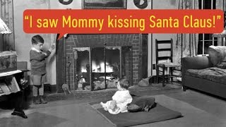 I saw Mommy kissing Santa Claus (lyrics video for karaoke)