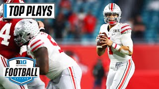 50 Of Ohio State's Top Passing Plays Of The 2020 Season   Big Ten Football