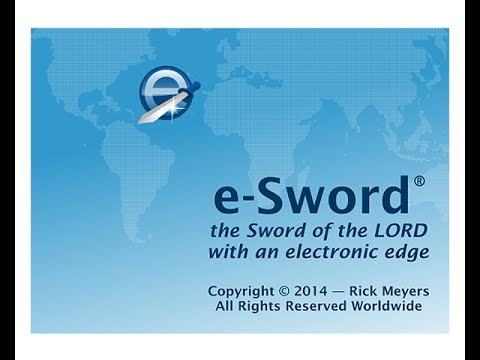 E-sword Tutorial PC Version: Downloading/ Introduction