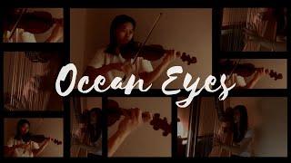 Ocean Eyes - Billie Eilish (Violin and Harp Cover)