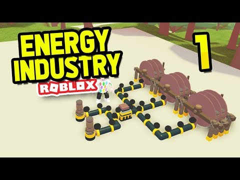BUILDING MY OWN POWER COMPANY - Roblox Energy Industry #1