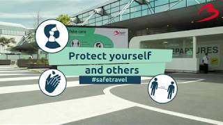 How to protect yourselves & your fellow passengers at Brussels Airport?