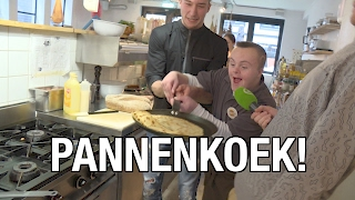 DumpertTV bakt pannenkoeken met Daan!