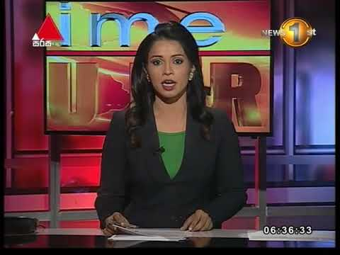News1st Breakfast News Sinhala 6 30Am 25052018