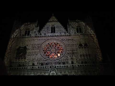 La Fête des lumières à Lyon 2016( Праздник света в Лионе )