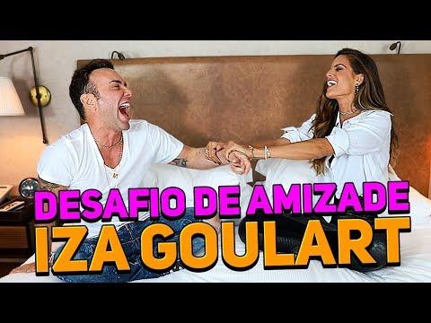 DESAFIO DA AMIZADE COM IZABEL GOULART | #HottelMazzafera