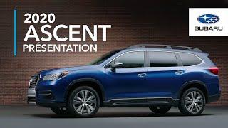 Subaru Ascent 2020 – Découvrez La Nouvelle Ascent