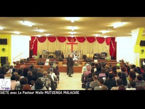 """Eglise de Dieu """"LE REVEIL """" Extrait Dimanche 6 Mars 2016 Avec le Pasteur WALLO MUTSENGA Malachie"""