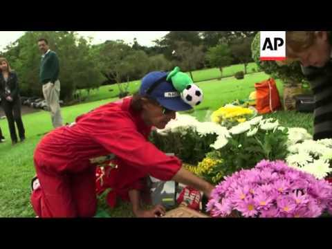 Ceremony to mark 20th anniversary of death of legendary F1 driver Ayrton Senna
