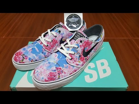 separation shoes ef2d4 b4a0a Unboxing - Nike SB Stefan Janoski Cherry Blossom Pink