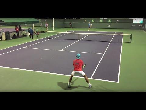 Rafael Nadal 3/8/16 Indian Wells BNP Paribas Open Practice