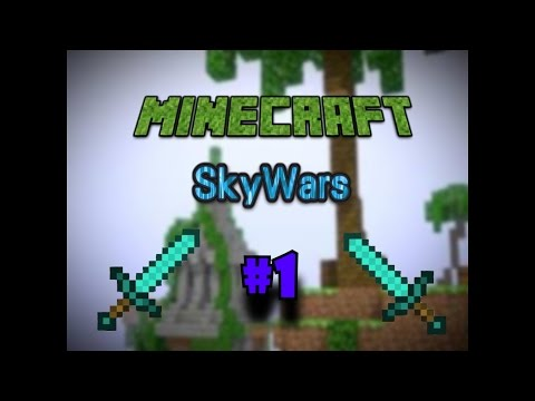 "Minecraft SOLO SKYWARS- ""KILL AURA HACKS?!?!""- w/ Epic Wizz #1"