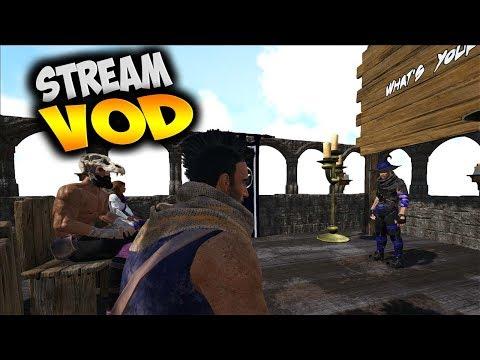 Zeth Talian - SKRP- School Day Part 1 (Ark Survival Evolved Seven Kingdoms RP Stream VOD)