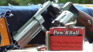 357 Magnum 100g PowRBall Ballistic gel GRENADE