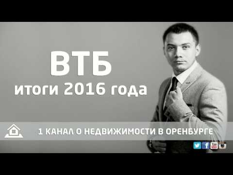 ВТБ итоги 2016 года