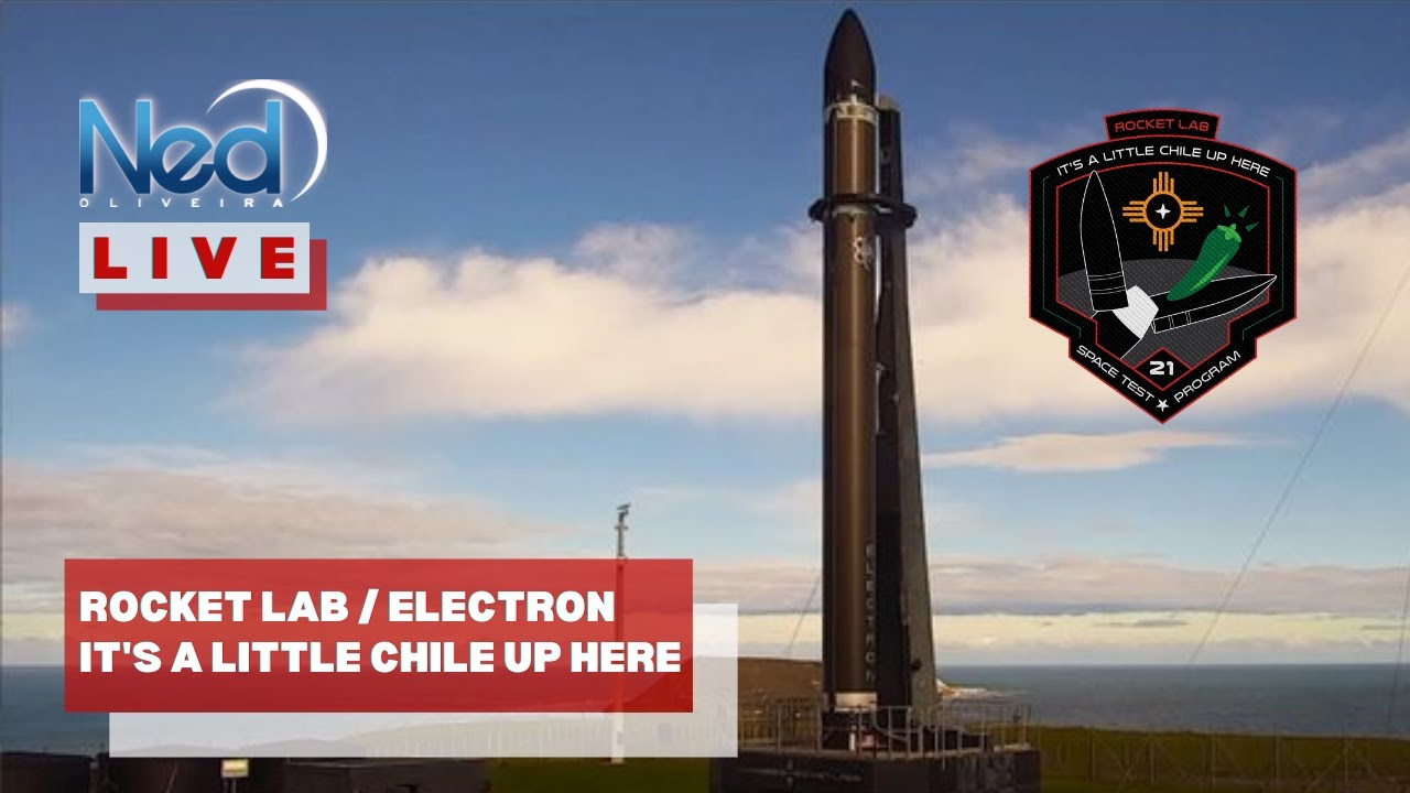 LANÇAMENTO DO FOGUETE ELECTRON / It's A Little Chile Up Here / AO VIVO