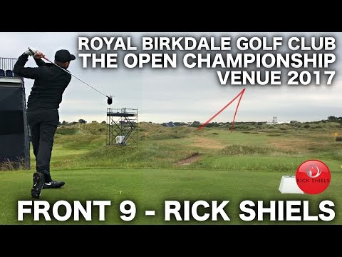 THE OPEN 2017 - ROYAL BIRKDALE GOLF CLUB FRONT 9 - RICK SHIELS