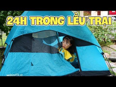 Thử Thách 24 Giờ Trong Lều Trại Dưới Trời Mưa Bão Phần 1