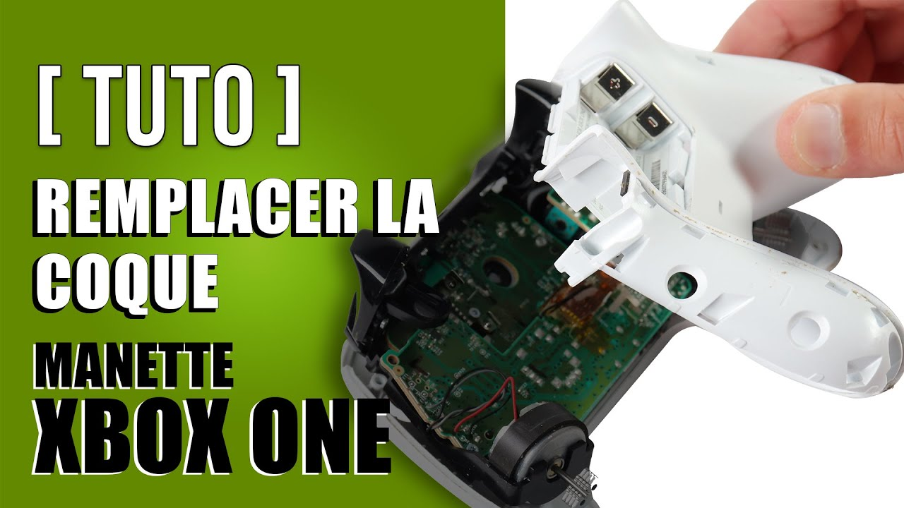 Comment remplacer la coque manette xbox one