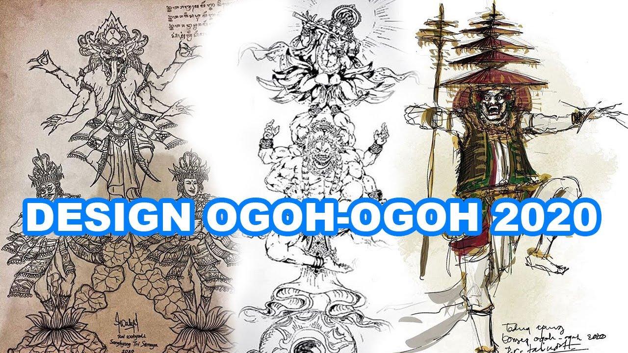 Rancangan Dan Desain Ogoh Ogoh 2020