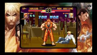 ART OF FIGHTING ANTHOLOGY PS4 ART OF FIGHTING Arcade Mode Ryo Sakazaki