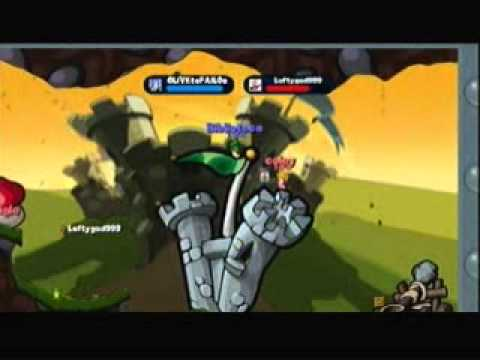 Worms 2 Armageddon Battle Leftygod999 and IPlayLeftyVocals
