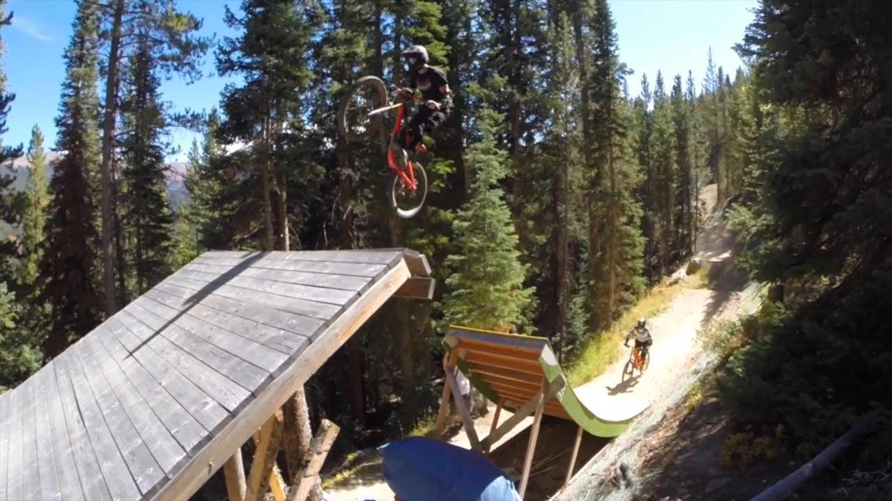 A Coloradical Wknd Shredding Trestle Downhill Mtb Park