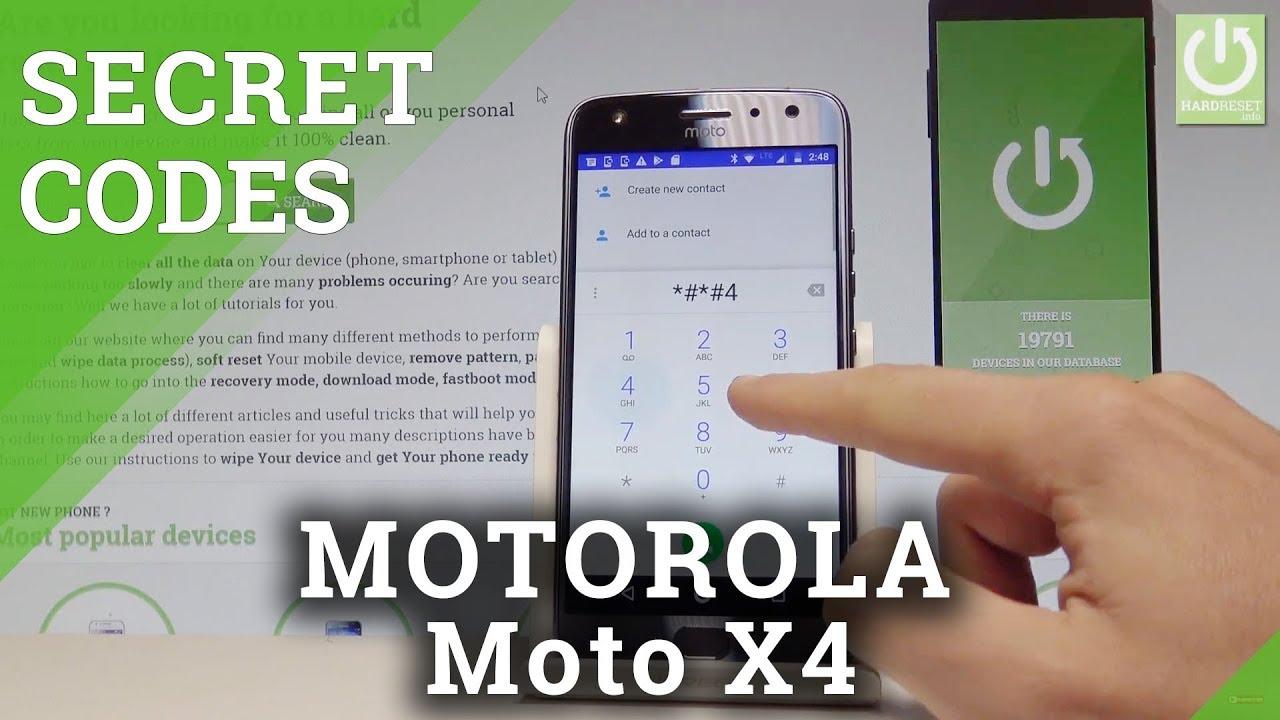 Codes MOTOROLA Moto E5 Play - HardReset info