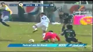 santos vs monterrey 3 2 final ida apertura 2010 todos los goles hq