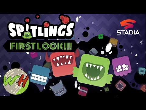 SPITLINGS - Stadia First Look |