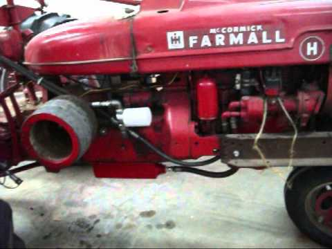 Farmall H Wiring Diagram For 6 Volt Farmall H Hydraulic Reservoir Pt 2 Youtube