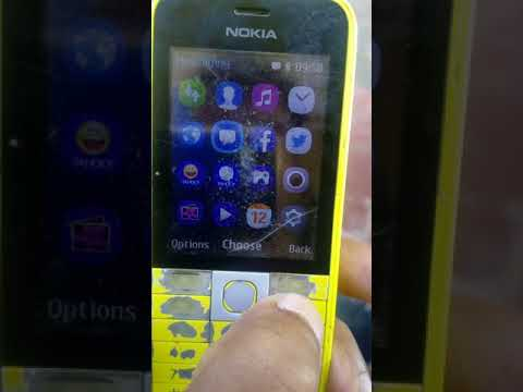 Nokia 220 se outgoing call setting