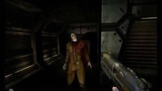 Doom 3 gameplay PC (noob edition)
