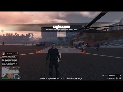 Ep71 CEO / VIP Sightseer Mission Money Making How To - Let's Play GTA 5 Online PC 1080p HD