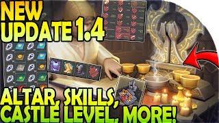 NEW UPDATE 1.4 - NEW ALTAR + SKILLS + CASTLE LEVEL + TRAPS + MORE - Grim Soul Dark Fantasy Survival