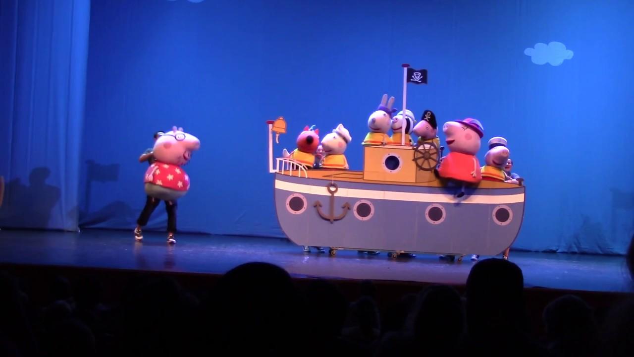 Свинка Пеппа Peppa Pig Спектакль Свинка Пеппа путешествие на остров динозавров в Минске
