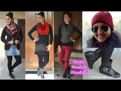 Winter Wardrobe Essentials | Indian Fashion Essentials | Perkymegs